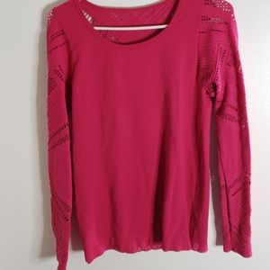 Hot pink activewear  longsleeve